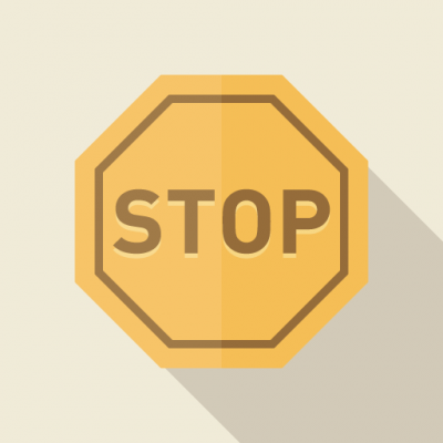 stop やめる