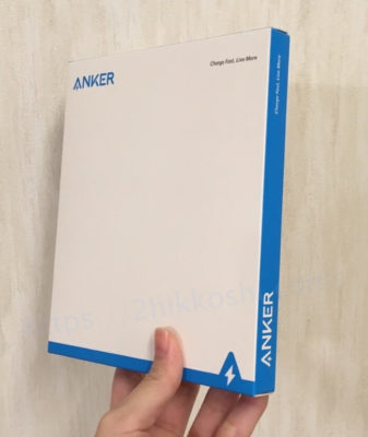Anker PowerWave 7.5 Padの外箱