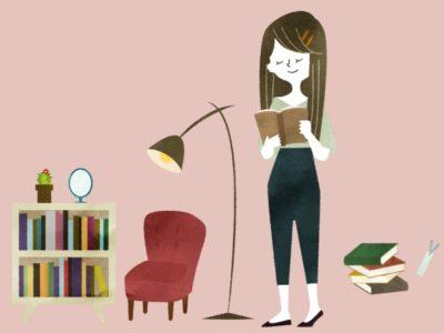 本を一気読みする