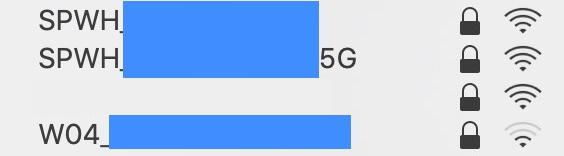 WiMAXの無線Wi-Fi初期設定