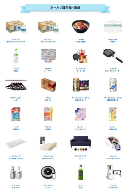Amazonプライムデー セール商品一覧